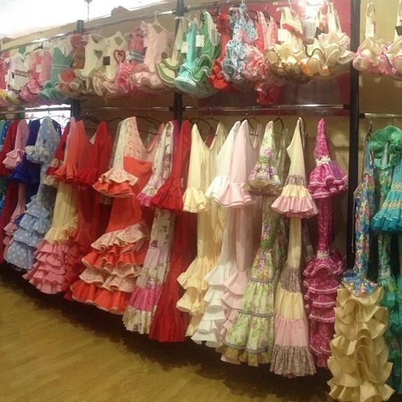 el albero, aniversario, trajes de flamenca